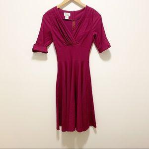 Unique Vintage Fit and Flare 1950's 1960's Dress